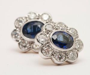 Antique-Style-18k-White-Gold-Sapphire-Diamond-Milligrain-Set-Cluster-Stud-Earrings.jpg